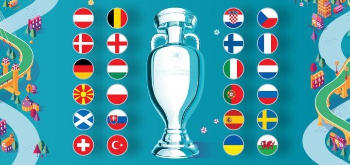 Jalgpalli EM 2021 turniiritabel